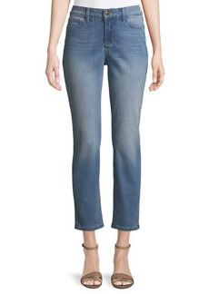 NYDJ Alina Mid-Rise Ankle Jeans