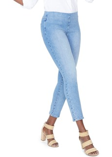NYDJ Alina High Waist  Pull-On Ankle Skinny Jeans (Regular & Petite) (Clean Dream State)