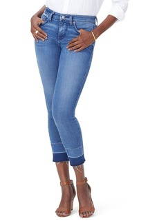Not Your Daughter's Jeans NYDJ Alina Release Hem Ankle Skinny Jeans (Wishful)