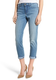 Not Your Daughter's Jeans NYDJ Alina Roll Cuff Stretch Ankle Skinny Jeans (Pampelonne) (Regular & Petite)
