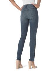 NYDJ Alina High Waist Stretch Skinny Jeans (Desert Gold)