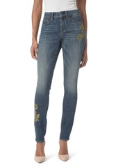 Not Your Daughter's Jeans NYDJ Alina Stretch Skinny Jeans (Desert Gold)