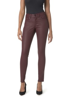 Not Your Daughter's Jeans NYDJ Ami Coated Skinny Legging Jeans in Deep Currant