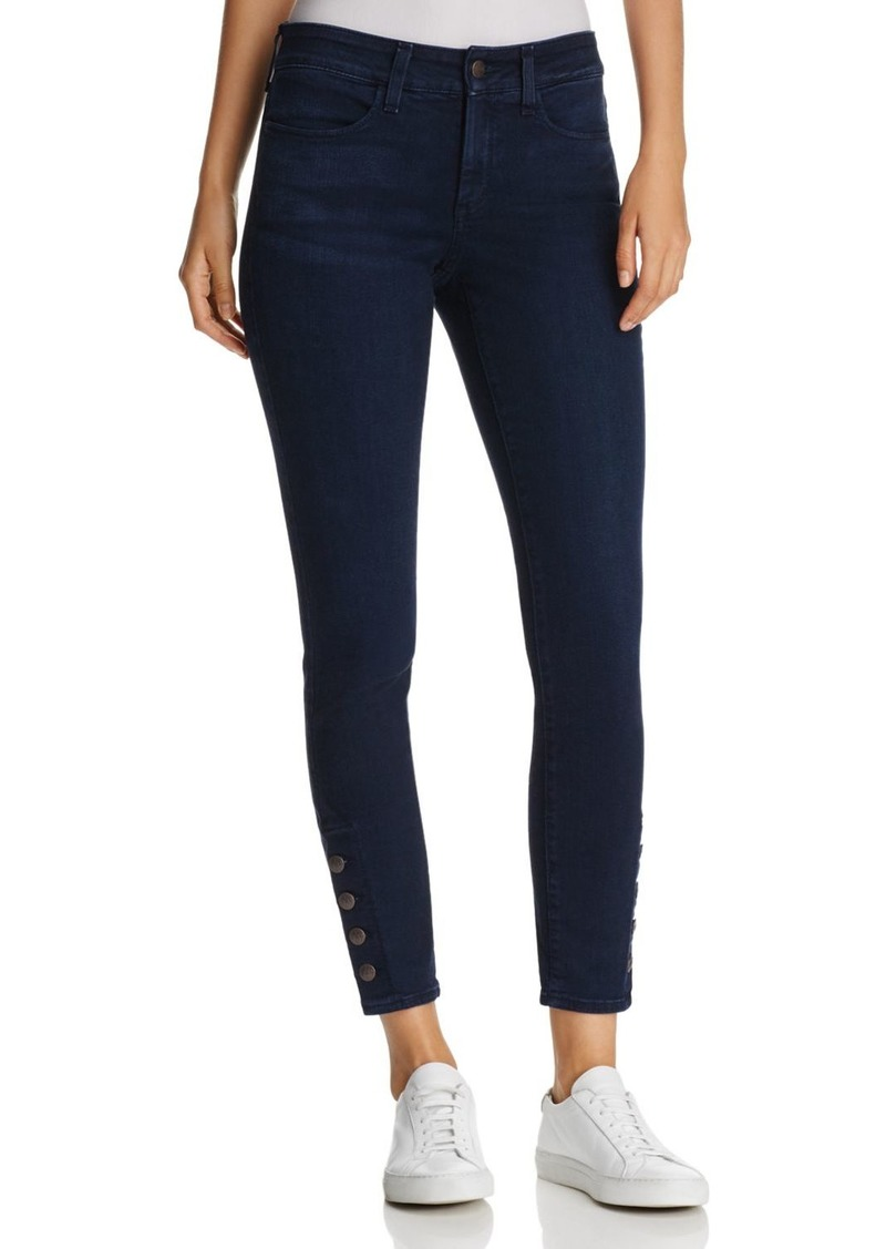 Not Your Daughter's Jeans NYDJ Ami Cropped Button-Cuff Legging Jeans in Sinclair