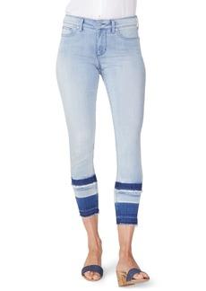 NYDJ Ami High Waist Double Release Hem Skinny Ankle Jeans (Hurricane)