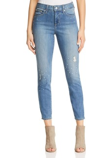 Not Your Daughter's Jeans NYDJ Ami Embellished Ankle Jeans in Marrakesh
