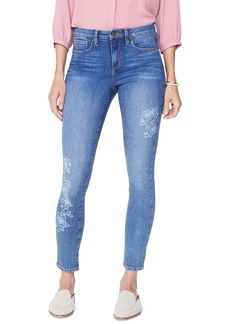 NYDJ Ami Laser Rose Ankle Skinny Jeans (Clean Cabrillo)