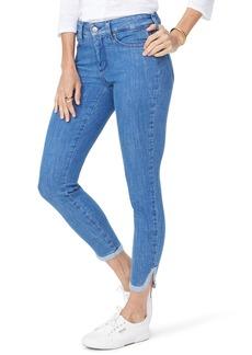 NYDJ Ami Side Slit Ankle Skinny Jeans (Bliss)