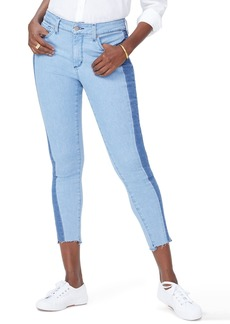 Not Your Daughter's Jeans NYDJ Ami Stretch Ankle Skinny Contrast Step Hem Jeans (Blissful)