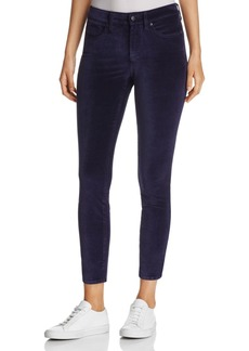 Not Your Daughter's Jeans NYDJ Ami Velvet Legging Jeans in Navy - 100% Exclusive