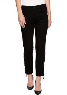NYDJ Ankle w/ Lace-Up Detail in Black