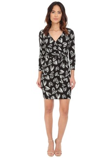 NYDJ Antoinette Paradise Flourish Wrap Dress