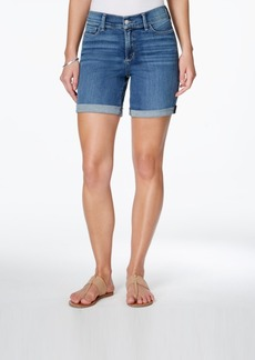 Not Your Daughter's Jeans Nydj Avery Tummy Control Cuffed Denim Shorts