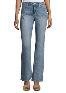 NYDJ Barbara Boot-Cut Faded Jeans