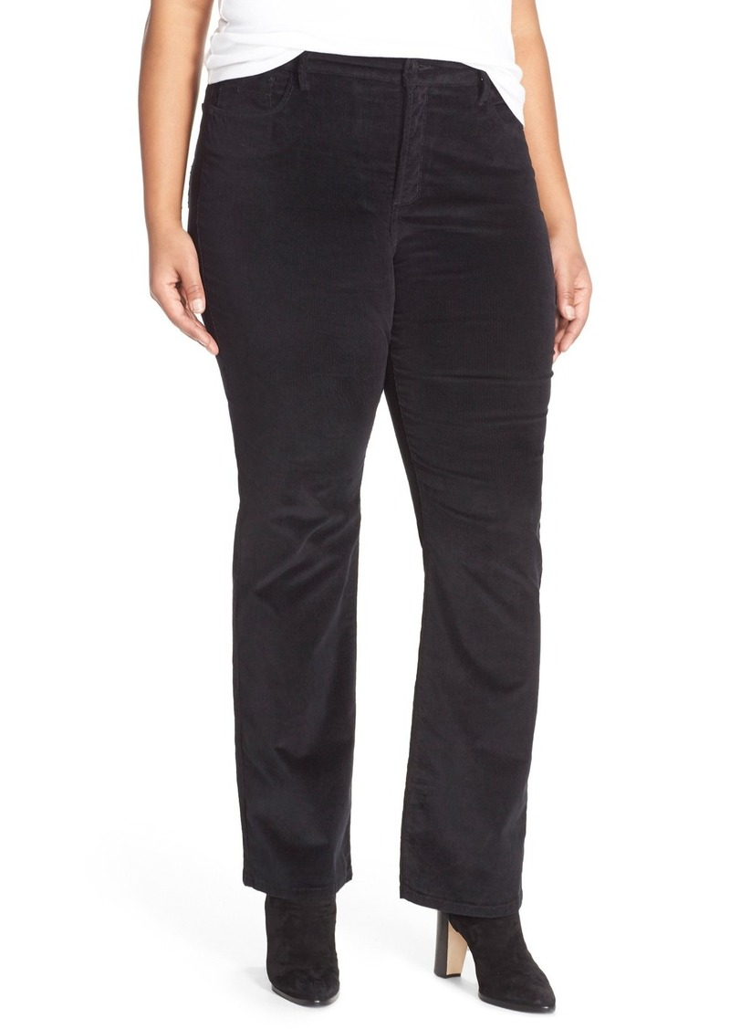 576f836e404 NYDJ NYDJ  Billie  Stretch Mini Bootcut Corduroy Pants (Plus Size ...