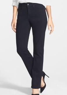 Not Your Daughter's Jeans NYDJ 'Billie' Stretch Mini Bootcut Jeans (Black) (Regular & Petite)