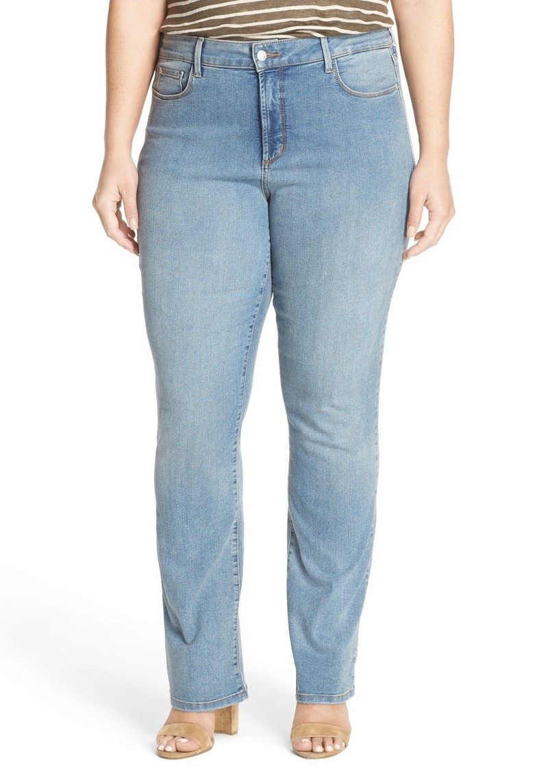 NYDJ 'Billie' Stretch Mini Bootcut Jeans (Plus Size)