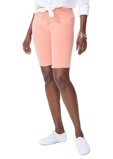 Not Your Daughter's Jeans NYDJ Briella Frayed Cuff Denim Shorts
