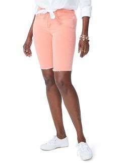 Not Your Daughter's Jeans NYDJ Briella Frayed Hem Bermuda Shorts