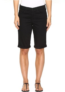 Not Your Daughter's Jeans Briella Roll Cuff Shorts in Black