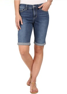 Not Your Daughter's Jeans NYDJ Briella Roll Cuff Shorts in Heyburn Wash