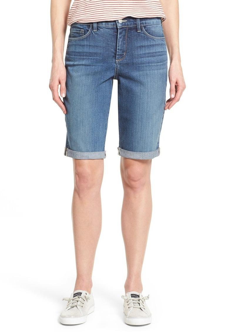 NYDJ Womens Briella Roll Cuff Jean Short