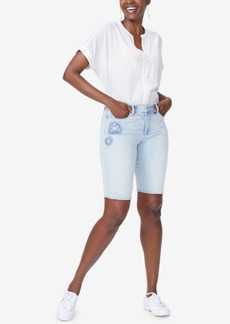 Not Your Daughter's Jeans Nydj Briella Tummy-Control Denim Shorts