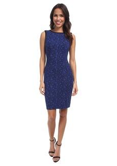 NYDJ Caila Knit Jacquard Sheath Dress