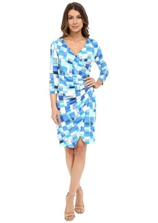 NYDJ Casey Printed Rayon Dress