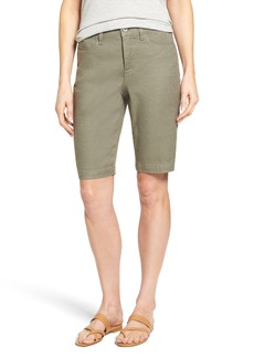 Not Your Daughter's Jeans NYDJ 'Catherine' Linen Blend Bermuda Shorts (Regular & Petite)
