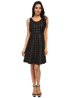 NYDJ Charlie Coated Houndstooth Dress