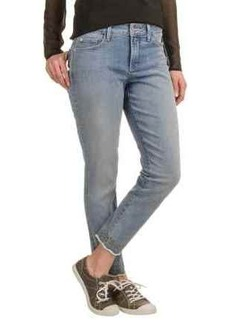 NYDJ Clarissa Ankle Jeans - Embroidered Hems (For Women)