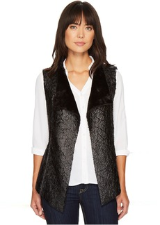 Not Your Daughter's Jeans Coated Faux Fur Vest