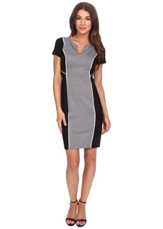 NYDJ Constance Houndstooth Sheath Dress