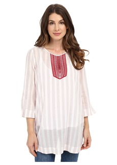 Not Your Daughter's Jeans NYDJ Cotton Embroidered Tunic