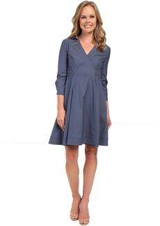Not Your Daughter's Jeans NYDJ Cotton Poplin Shirt Dress