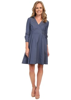 NYDJ Cotton Poplin Shirt Dress