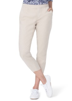 Not Your Daughter's Jeans NYDJ Crop Linen Pants (Regular & Petite)