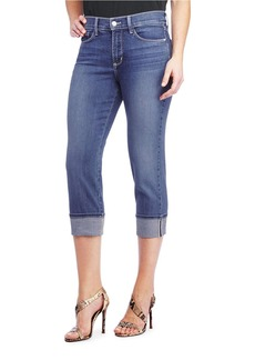 Not Your Daughter's Jeans NYDJ Cropped Cotton Blend Jeans