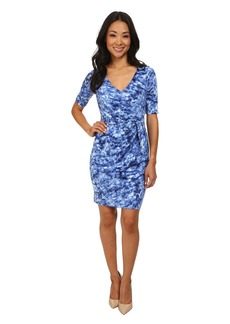 NYDJ Daniella Rain Drop Tie Dress
