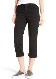 Not Your Daughter's Jeans NYDJ Dayla Colored Wide Cuff Capri Jeans (Regular & Petite)