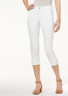 Not Your Daughter's Jeans Nydj Dayla Tummy-Control Cuffed Capri Jeans