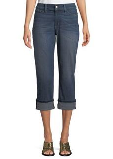 NYDJ Dayla Wide-Cuff Capri Jeans