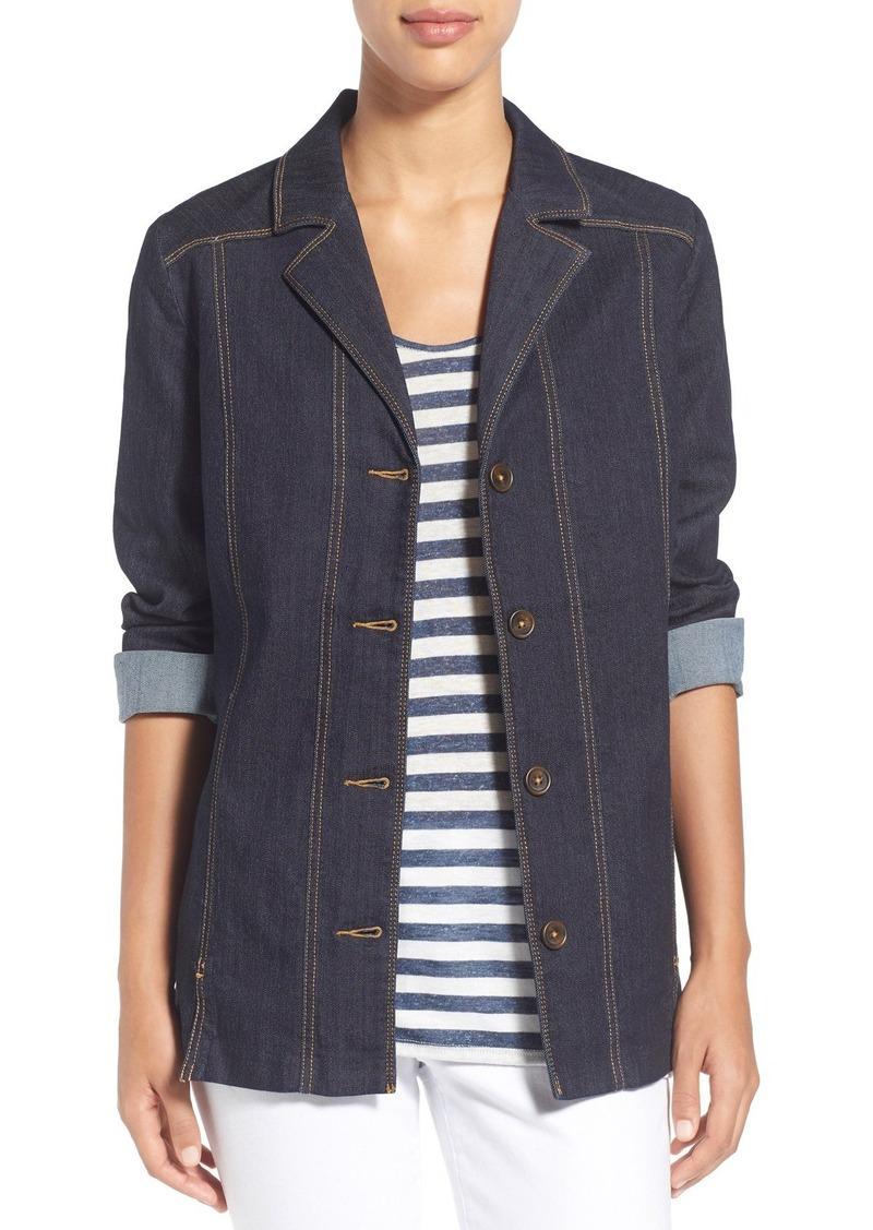 NYDJ 'Deena' Belted Denim Jacket