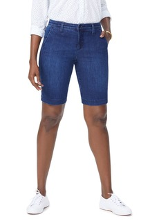 Not Your Daughter's Jeans NYDJ Denim Bermuda Shorts in Cooper