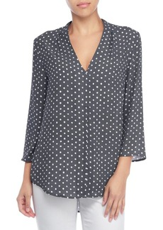 Not Your Daughter's Jeans Dot Printed Hi-Lo Top