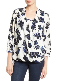 Not Your Daughter's Jeans NYDJ Drape Front Blouse