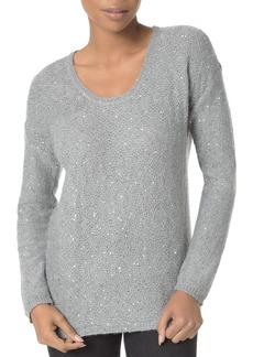 Not Your Daughter's Jeans NYDJ Drop Shoulder Marled Sequin Sweater