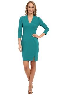 NYDJ Elise Solid Stretch Crepe Dress