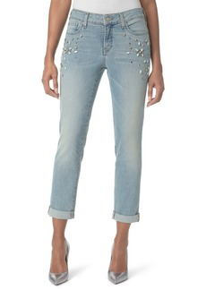Not Your Daughter's Jeans NYDJ Embellished Boyfriend Jeans (Westland)